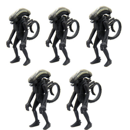 """Lot 5pcs Kenner THE ALIEN SUPER 7 REACTION FUNKO 3.75/"""" FIGURE Amazing Toy Gift"""