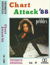 CHART ATTACK 88 VOL41 IMPORT UAE CASSETTE MICHAEL JACKSON A-HA SADE QUO FLEETWOO