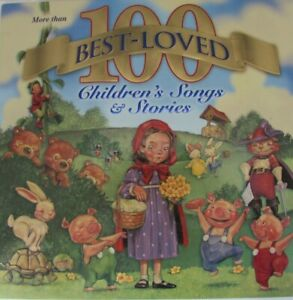 100 Best Loved Children's Songs & Stories CD's Set of 7 Mother Goose Fairy Tales