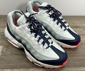 Details about Nike Air Max 95 Women's Size 7 Midnight Navy Laser Orange 307960-405