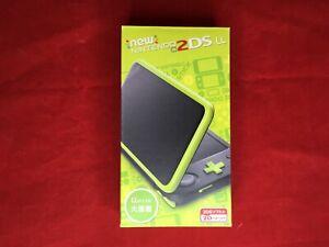 New-Nintendo-2DS-LL-Black-Lime-Japan-import