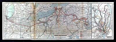 1915 Erie Railroad Map - New York Chicago Pennsylvania Ohio Illinois Illinois Map Of Ohio And Pennsylvania on map of state of pennslyvannia, map of michigan and new york, map of northern va and pennsylvania, map of lakes in ohio, gold deposit maps pennsylvania, map of new york and washington dc, p of pennsylvania, map of eastern ohio, map of philadelphia and pennsylvania, printable map of south west pennsylvania, map michigan and pennsylvania, state land map of pennsylvania, map of ohio outline, mid west city map pennsylvania, map of ohio in 1830, map of connecticut and pennsylvania, pa road maps pennsylvania, map of indian villages in ohio, map of florida and pennsylvania, west virginia county map pennsylvania,
