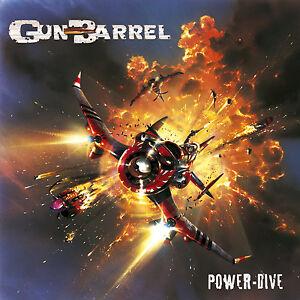 GUN-BARREL-Power-Dive-CD-2001-Kick-Ass-Rock-039-n-039-Roll-NEW