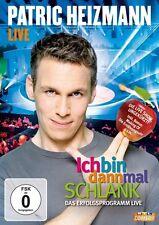 PATRIC HEIZMANN - ICH BIN DANN MAL SCHLANK-LIVE! COMEDY MIT NÄHRWERT  DVD NEU