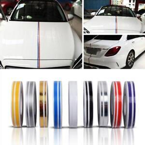 Car-Decal-Striping-Pin-Stripe-Steamline-Double-Line-Tape-Vinyl-Sticker-CA