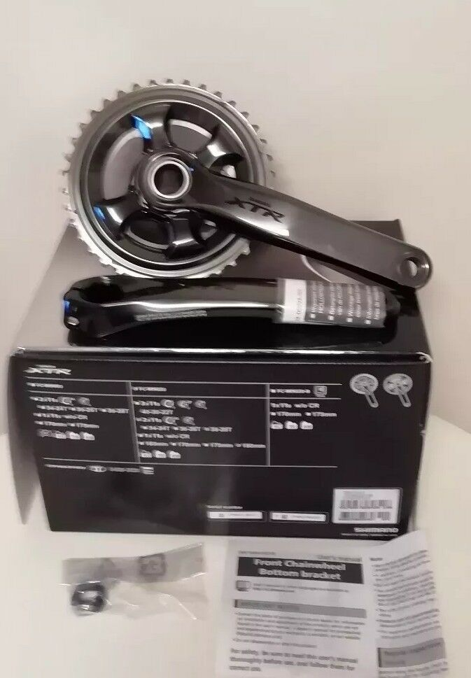 Shimano XTR 11speed  Crankset - 38   28 180 mm Chainset Double  save up to 70%
