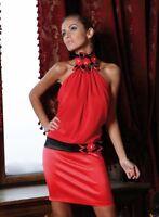 Evening Formal Party Elegant Ladies Womens Bridesmaid Mini Dress 6 8 10 12 14