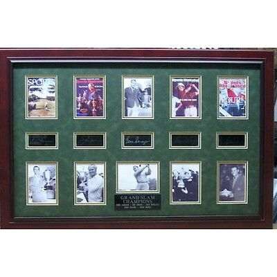 2027030. Golf Grand Slam Champions - Plate Signatures Lot 2027030