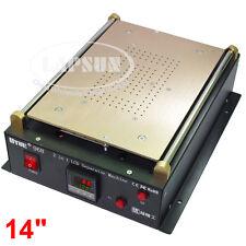 """14"""" Dual Vacuum Pump Mobile i Phone Pad LCD Glass Screen Separator Machine 968"""