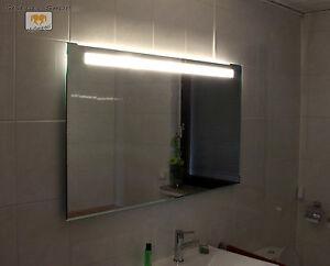 led badspiegel spiegel nach ma mit beleuchtung wandspiegel lichtspiegel ebay. Black Bedroom Furniture Sets. Home Design Ideas