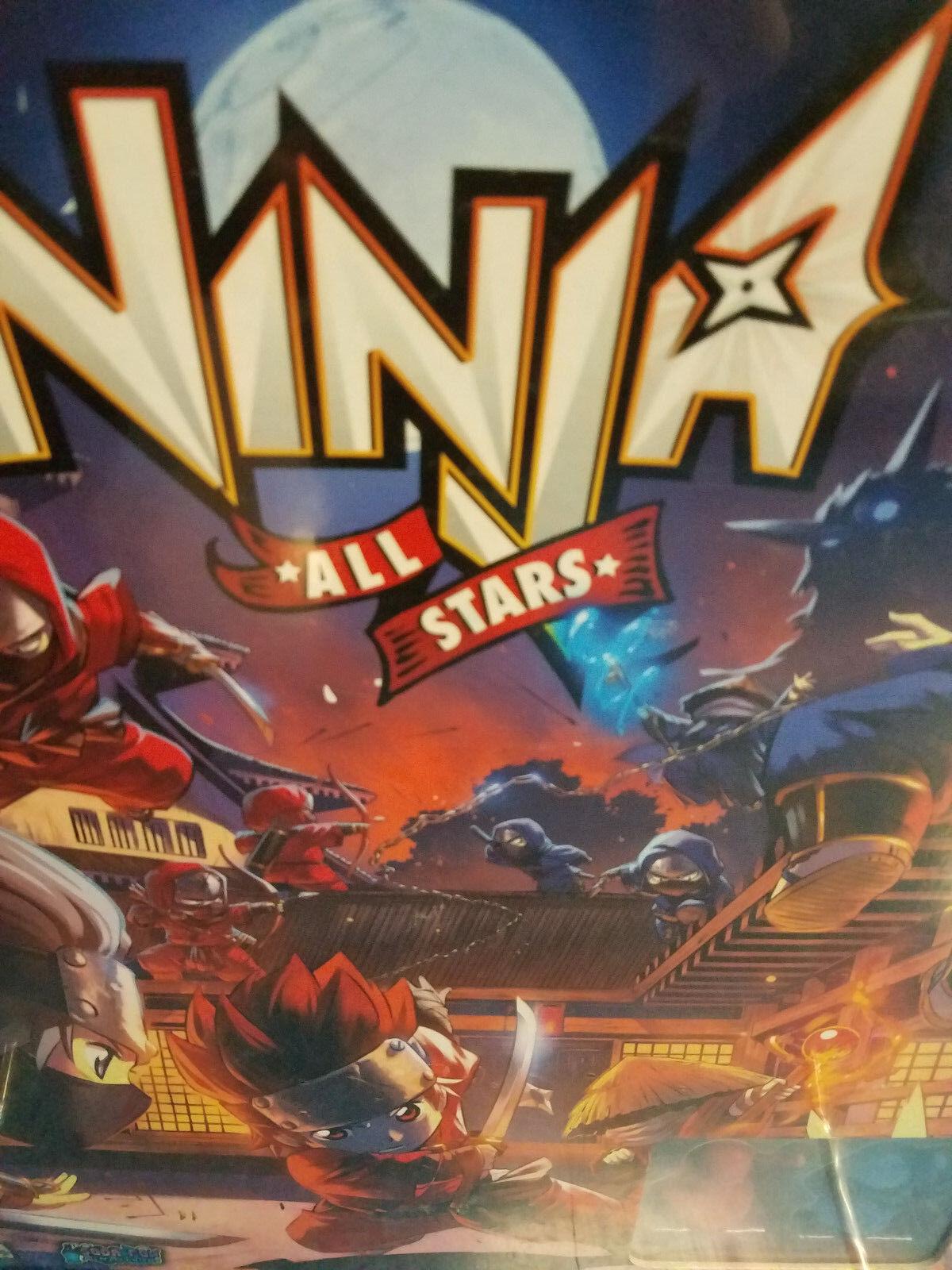 Ninja All Stars Core Base Set - Ninja Division Games Board Game New