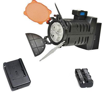 Hot Shoe LED Video Light Continuous for Canon Nikon Pentax Camera DV Camcorder