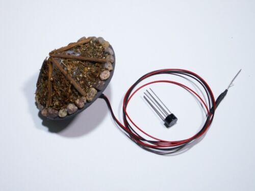 S863 Lagerfeuer mit LED Brandflackern Feuer für Spur 1 G und Weihnachtskrippe