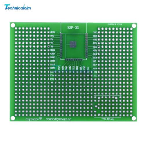 7X9CM Prototype PCB Breadboard For ESP8266 ESP-12E ESP-12F ESP32 ESP-32S Relay