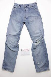 G-star-elwood-antiform-boyfriend-jeans-usato-Cod-E1070-Tg-45-W31-L36