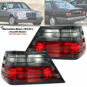 1-Pair-Rear-Tail-Light-Lamp-For-Mercedes-Benz-W124-E200-E220-E280-1994-1996