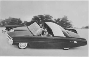 1968 Ford Thunderbird Saturn Concept Car Press Photo /& Releases 0027