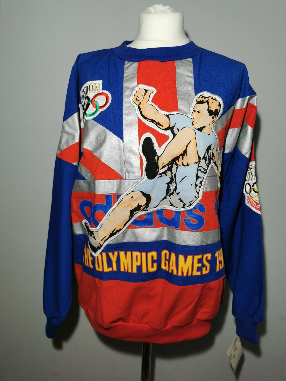 Adidas London Olympic Games 1908 / 1948 - Ultra Rare 80s UNWORN with Tags