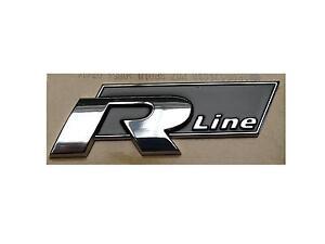 *Original VW Schriftzug Emblem Logo - R Line -  selbstklebend 5K0853688A FXC