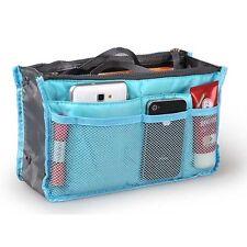 Handbag Organiser Organizer Large Insert Travel Bag Tidy 6 Colours Uk