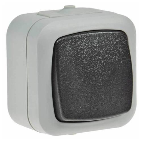 Feuchtraum Wechselschalter Feuchtraumschalter IP44 Aufputz