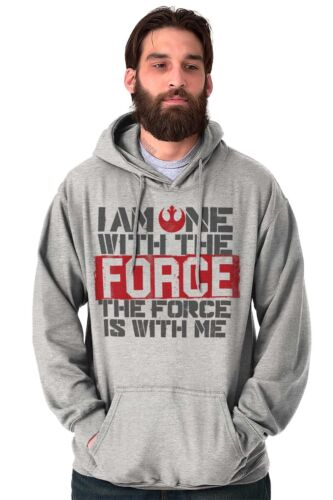 One With The Force Space Nerd Movie Galaxy Hoodies Sweat Shirts Sweatshirts