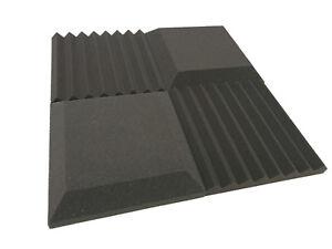 "Advanced Acoustics Acoustic Treatment FAT Single 30/"" Tiles Studio Foam Grey"