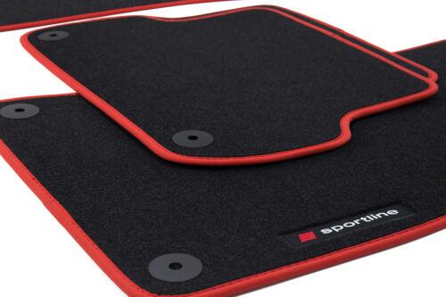 2005-2012 Fußmatten Sportline für Seat Leon 2 II 1P Bj