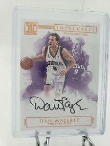 Dan Majerle Impeccable Indelible Ink Auto on card 82/99 no. II-DM basketball ssp