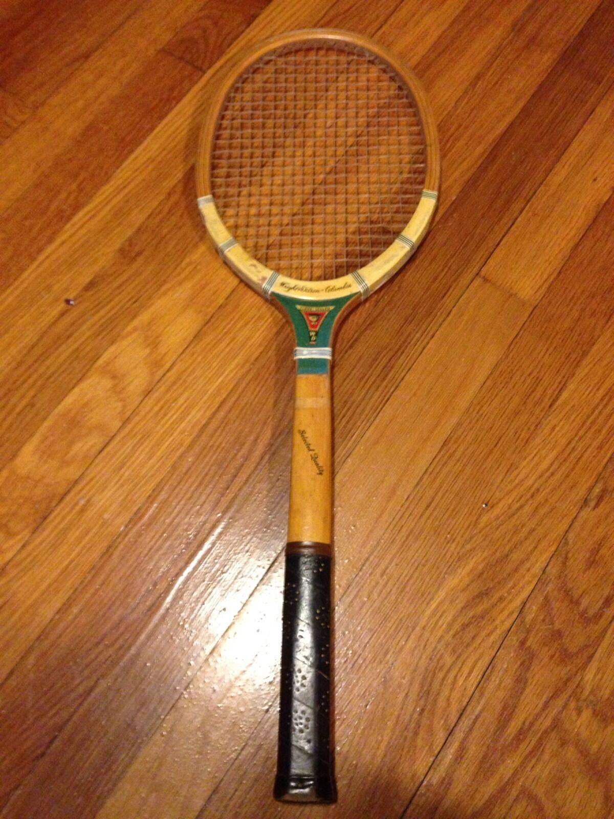 Vintage Raqueta De Tenis Wright Y Ditson