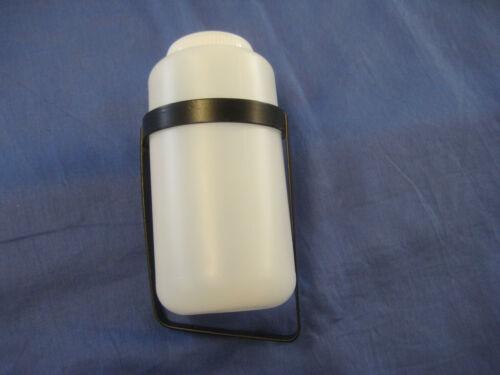 NEW MIDGET OR SPRITE  TUDOR WASHER BOTTLE SLANTED BASE  BRACKET /& BOTTLE*K2A
