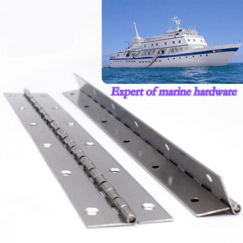 "Top Quality Stainless Steel 14 /""X 2/"" Boat Piano Hinge For Sale"