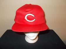 VTG-1990s Cincinnati Reds MLB Stadium Style authentic snapback hat sku6