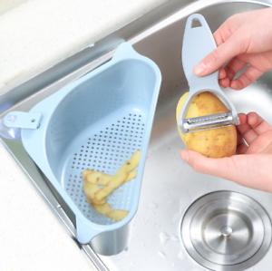 Triangle Sink Strainer Kitchen Drain Basket Hanging Storage Holder Kitchen Tools Ebay