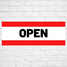 Open Advertising Vinyl Banner Flag Sign Many Sizes Available Usa