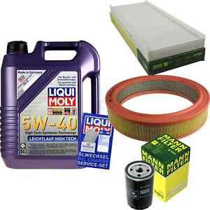 Inspektionskit-Filter-LIQUI-MOLY-Oil-5L-5W-40-for-Audi-80-8C-B4-2-0