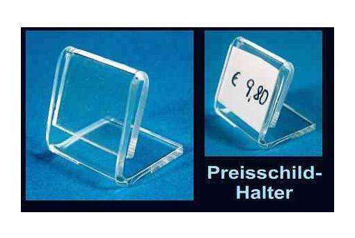 20 x Preis-Ständer Preis-Schild-Halter Preis-Auszeichnung Acryl Preis-Angebot