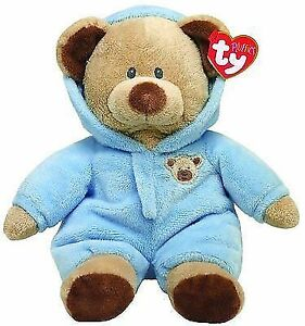 Ty Pluffies 10 Toy Stuffed Animal Plush Newborn Boy 32130 Pj Baby