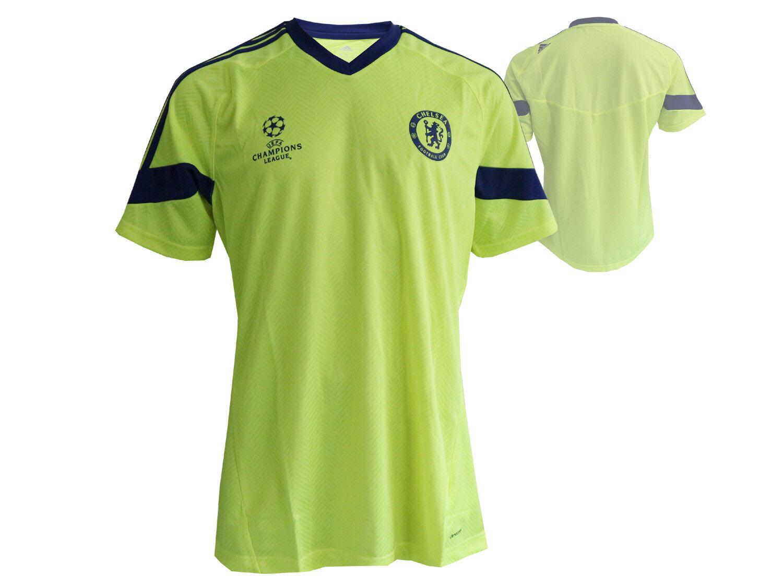 Adidas CFC Chelsea Londres Football Entraînement Jersey TAILLE L CFC Adidas c4e48c