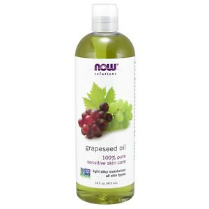 NOW Foods Grapeseed Oil, 16 fl. oz.