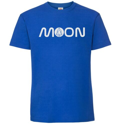 EOS T-Shirt Moon NASA style texte Crypto by My Cup of Thé