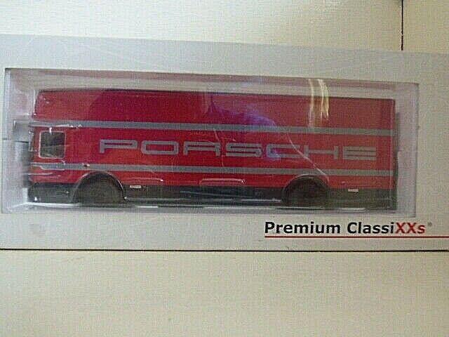 Premium ClassiXXs Mercedes Porsche transportador de carreras de equipo