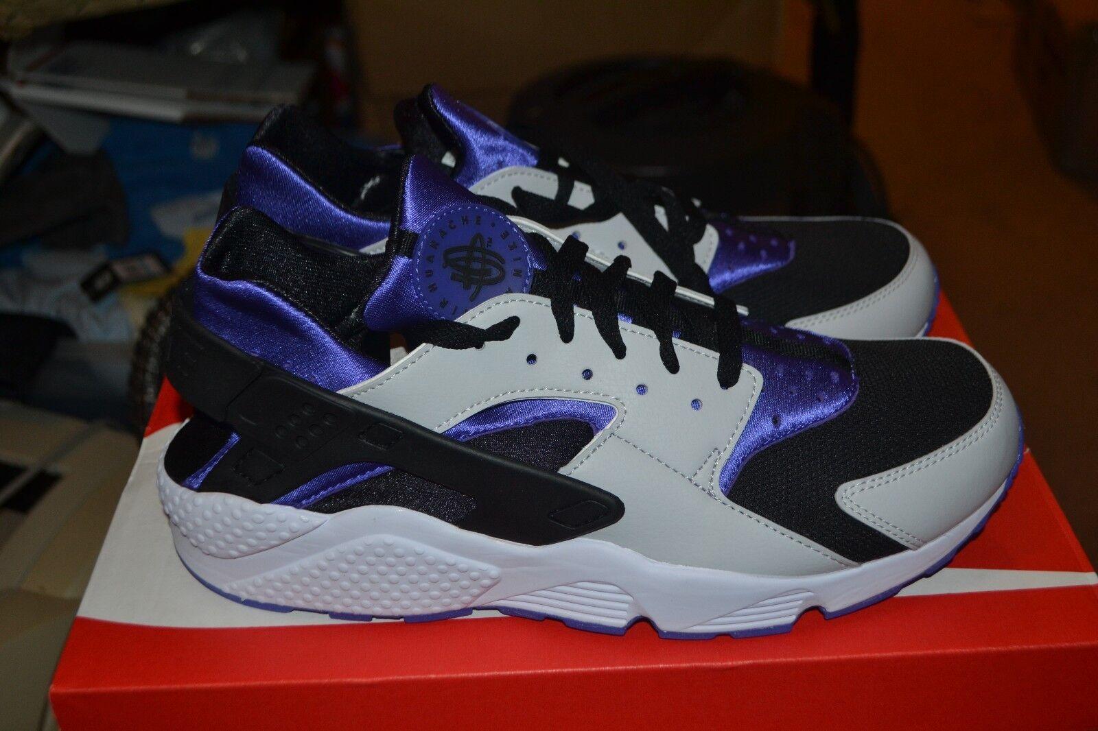 Nike Air Huarache [318429-501] NSW Running Persian Violet/Platinum-Black SZ 12