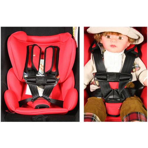For Children Baby Kid Car Safety Seat Strap Belt Harness Chest Clip Safe Buckle