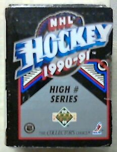 1990-91-Upper-Deck-Hockey-Sealed-High-Series-Set-1-150-Potvin-Federov-Rookies