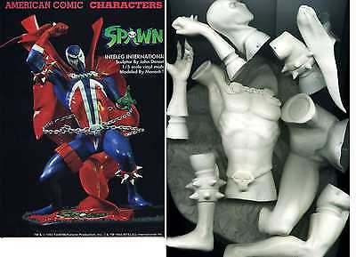 "12""SPAWN Comic Hero Version on base Vinyl Model Kit 1/5"