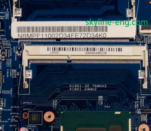 NBMPF11002 NEW Acer Aspire V3 Motherboard i5 V3-371 NB.MPF11.002
