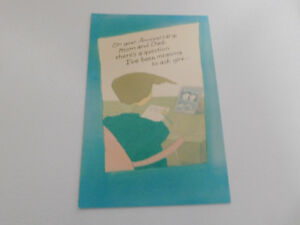 On your anniversary mom dad greeting card ebay image is loading on your anniversary mom amp dad greeting card m4hsunfo