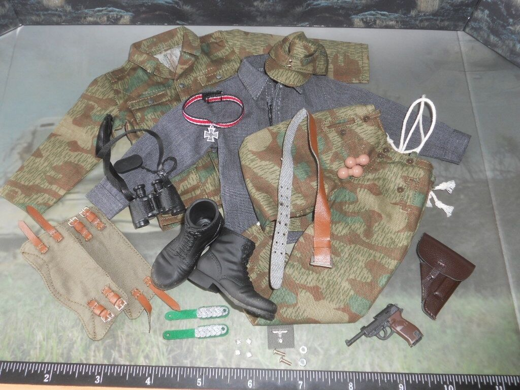 TOYS CITY WWII GERMAN CAMO WEHRMACHT UNIFORM SET 1 6TH ACTION FIGURE TOYS did