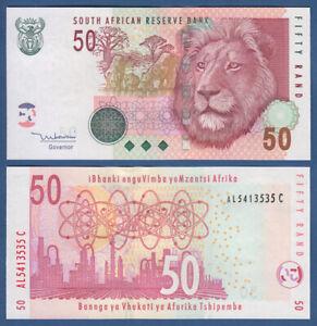 Afrique Du Sud/south Africa 50 Rand (2005) Unc P.130 A-afficher Le Titre D'origine